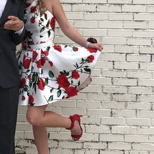 Dresses & Skirts - Floral Homecoming Dress